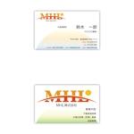 qulioqurioさんの「MHL株式会社」の名刺デザインへの提案
