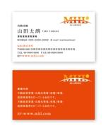 aki17blueさんの「MHL株式会社」の名刺デザインへの提案