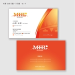hanatoraさんの「MHL株式会社」の名刺デザインへの提案
