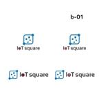 Yolozuさんの次世代に向けたIoT/AI融合事業会社の「株式会社IoTスクエア」のロゴへの提案