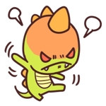 【原案あり】恐竜デザインゆるキャラクターのLINEスタンプ作成への提案