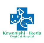 動物病院「川西池田いぬとねこの病院」のロゴへの提案