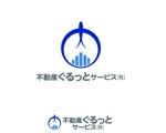 adtomさんの不動産テック新会社「不動産ぐるっとサービス株式会社」のロゴをお願いいたします。への提案