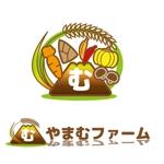 家庭菜園ウェブサイト「やまむファーム」のロゴ作成依頼への提案