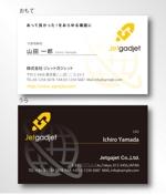 Webメディアを運営する企業の名刺デザイン制作への提案