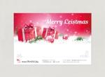 chiraraさんのクリスマスカードのデザイン(法人)への提案