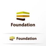 katachidesignさんの「健康」を取り扱う会社「株式会社Foundation」のロゴへの提案