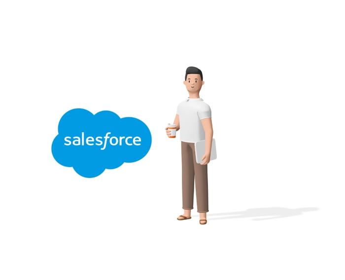 Salesforce関連のコンサルティングを行います。