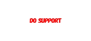 DO SUPPORT